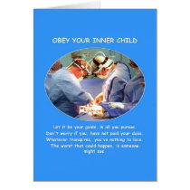 obey-your-inner-child greeting card