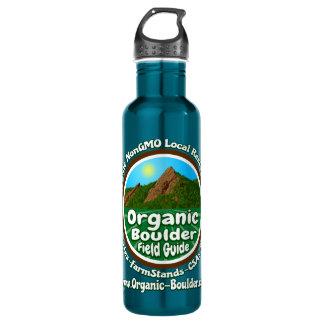 OBFG Logo Stainless Steel 24oz Blue Water Bottle