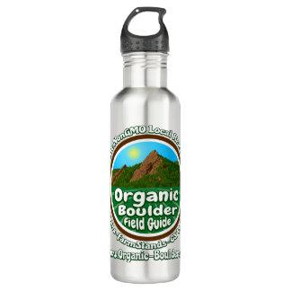 OBFG Logo Stainless Steel 24oz Silver Water Bottle