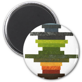 Obfuscated Cross for Polo Shirt Complete wiith R A 2 Inch Round Magnet