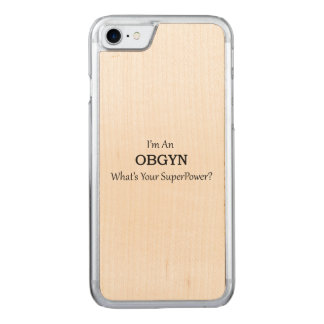 OBGYN CARVED iPhone 7 CASE