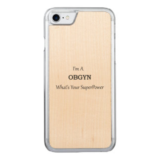 OBGYN CARVED iPhone 8/7 CASE
