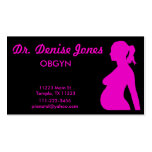 OBGYN Doctor Business Card