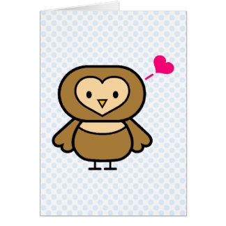Obie Owl Card