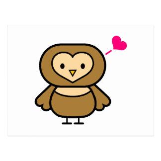 Obie Owl Postcard