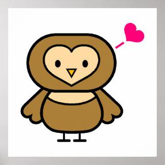 Obie Owl Posters