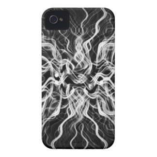 Obisidian Black Abstract Design iPhone 4 Case-Mate Cases