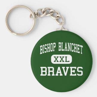 Obispo Blanchet - Braves - altos - Seattle Llavero Redondo Tipo Pin