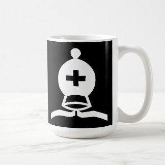 Obispo blanco tazas