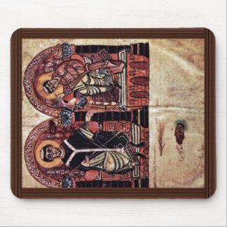 Obispo Braulio e Isidoro de Sevilla por Meister D Mouse Pad