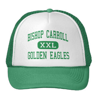 Obispo Carroll - Eagles de oro - Wichita Gorra