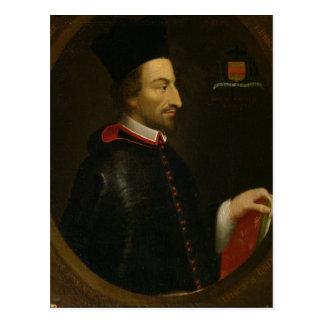 Obispo de Cornelio Jansen de Ypres Tarjetas Postales