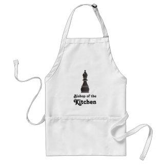 Obispo de la cocina delantal