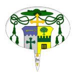 Obispo de Lorenzo Thomas Persico del COA de Erie Figuras De Tarta