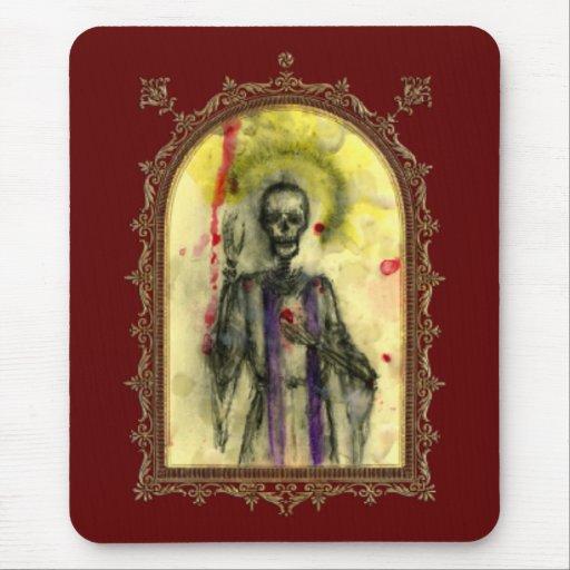 Obispo de los azules del vudú tapete de raton