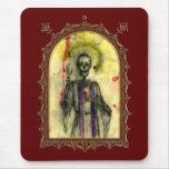 Obispo de los azules del vudú tapetes de raton