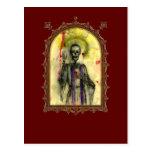 Obispo de los azules del vudú tarjeta postal