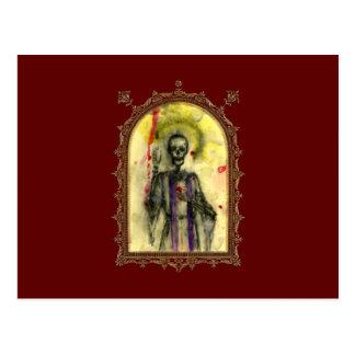 Obispo de los azules del vudú tarjetas postales