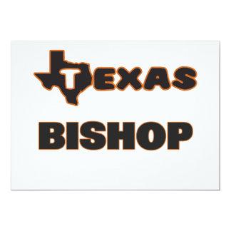 Obispo de Tejas Invitación 12,7 X 17,8 Cm