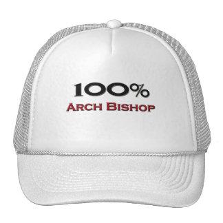 Obispo del arco del 100 por ciento gorros