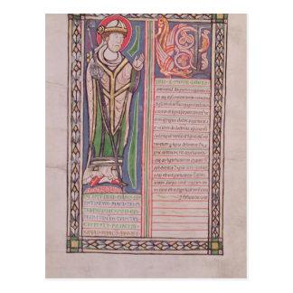 Obispo del lombardo de Pedro de París Postal