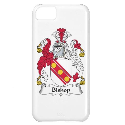 Obispo Family Crest Funda Para iPhone 5C