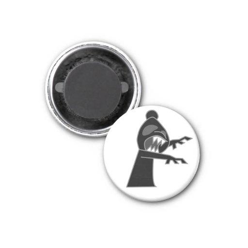 Obispo negro Magnet del zombi Iman