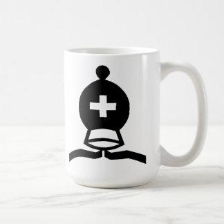 Obispo negro tazas de café