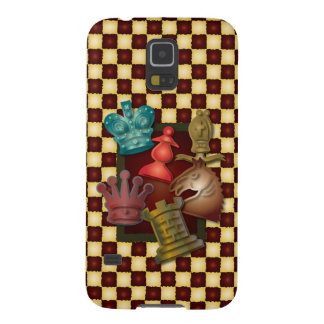 Obispo Pawn del caballero del rey reina del diseño Carcasas De Galaxy S5