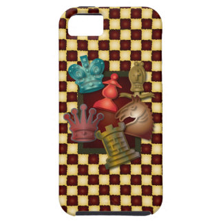 Obispo Pawn del caballero del rey reina del diseño iPhone 5 Coberturas
