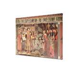 Obispo Roberto Sherburne con Enrique VIII Impresión En Lienzo