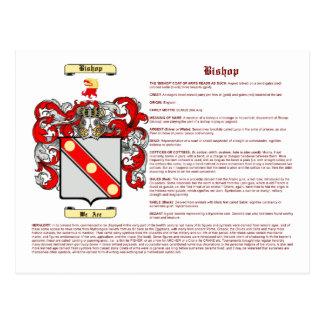 Obispo (significado) tarjeta postal