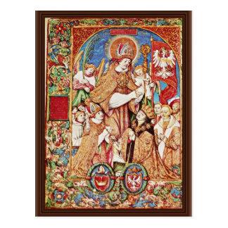 Obispo y rey Sigismund Tomicki del St. Stanislaus Tarjetas Postales
