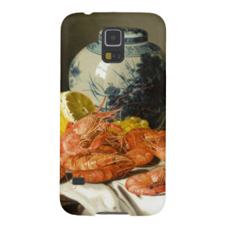 Object at rest of shrimp and 壺 galaxy s5 case