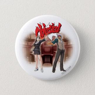 Objection! Mia & Godot Button