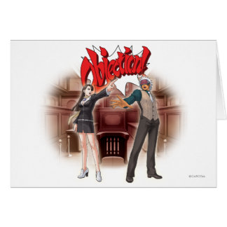 Objection! Mia & Godot Card