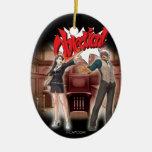 Objection! Mia & Godot Christmas Tree Ornaments