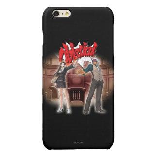 Objection! Mia & Godot Glossy iPhone 6 Plus Case