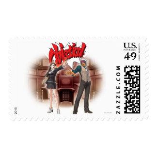 Objection! Mia & Godot Postage