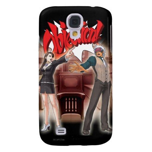 Objection! Mia & Godot Samsung Galaxy S4 Cover