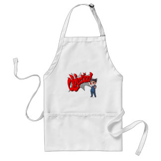 Objection! Phoenix Wright Chibi Adult Apron
