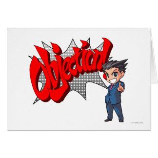 Objection! Phoenix Wright Chibi Card