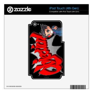 Objection! Phoenix Wright Chibi iPod Touch 4G Skin