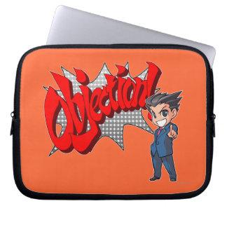 Objection! Phoenix Wright Chibi Laptop Sleeve