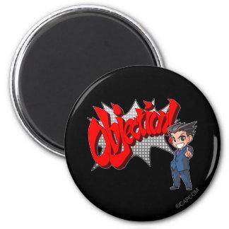 Objection! Phoenix Wright Chibi Magnet