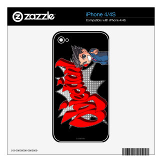 Objection! Phoenix Wright Chibi Skin For The iPhone 4