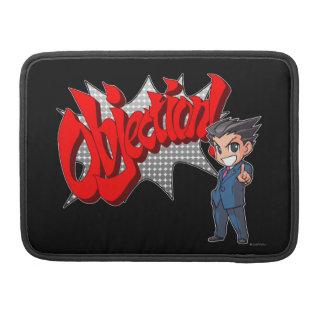 Objection! Phoenix Wright Chibi Sleeve For MacBooks