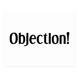 Objection Postcard