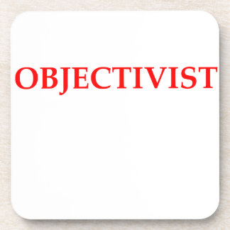 objectivist drink coasters