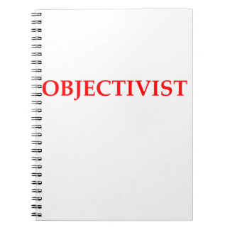 objectivist note books